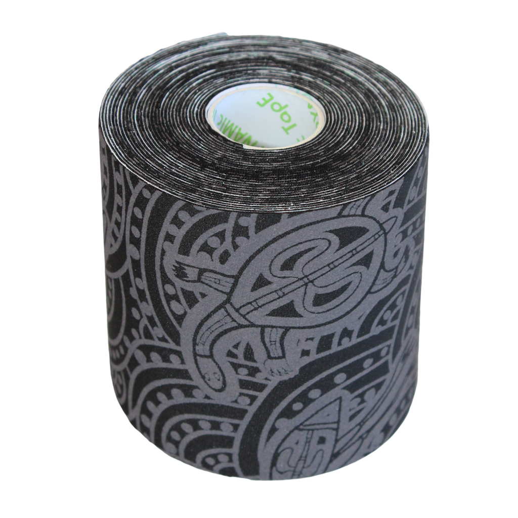 Dynamic Tape 7.5cm x 5m eco black grey tattoo