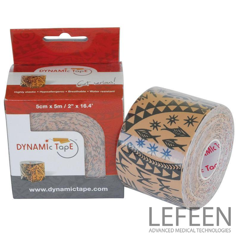 Dynamic Tape 5cm x 5m Beige - Black tattoo cena za ks při koupi  6ks