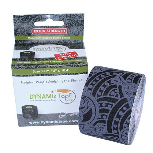 Dynamic Tape 5cm x 5m black - grey tattoo Výhodná cena za 6ks