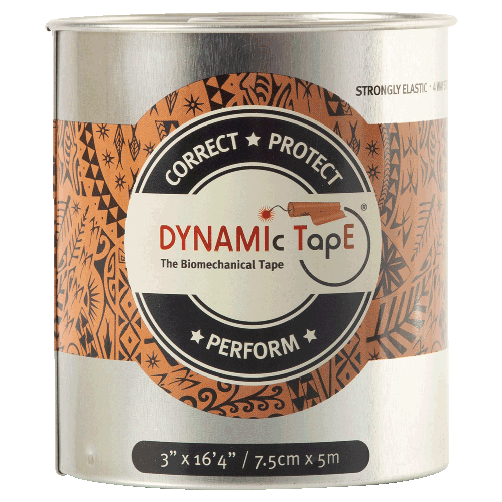 Dynamic Tape Beige Black Tattoo 7.5 x 5
